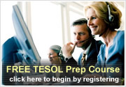 Try the TESOL Prep Course 4 Free