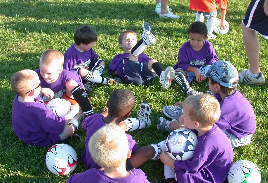 William John Scott in the FIGHTING PURPLE NINJAS team circle
