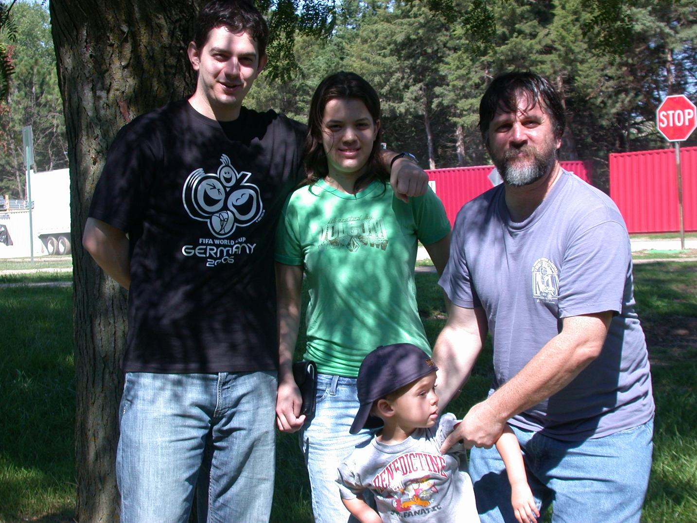 Robert Bryan, Heather Giselle, William John, Robert Bruce Scott, Labor Day 2006